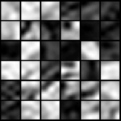 PCA dimension-reduced images (90% variance)